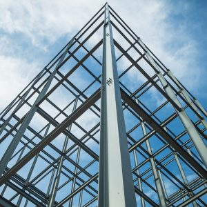 Structural steel for building construction